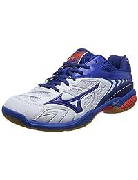 Mizuno 美津浓 中性 羽毛球鞋 WAVE FANG SS2 3129Q3-WAVE FANG SS2