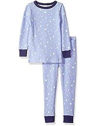 Gymboree 女童大号 2 件套紧身保暖衣长裤睡衣