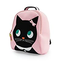 Dabbawalla Bags Preschool and Toddler Kitty Backpack Pink