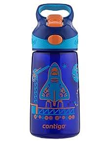 Contigo Autospout Striker儿童水杯 14盎司 蓝宝石