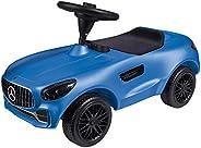 BIG Spielwarenfabrik 800056352 Big AMG GT,梅赛德斯设计工作室,宽阔的静音轮和防滑方向盘,滑车,适用于 18 个月以上的儿童