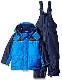 防风雨男孩幼童雪装