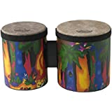 "Remo 儿童2件套 bongo Fabric Rain Forest 5""-6"" Bongo Drum Fabric Rain Forest"