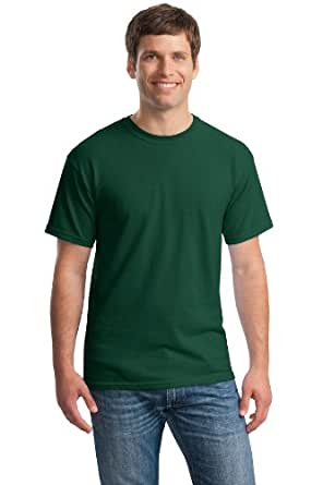 Gildan Heavy Cotton 5.3 oz. T-Shirt (G500) Pack of 12- FOREST GREEN,L