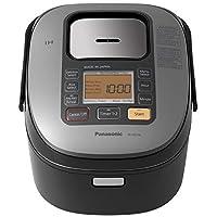 Panasonic SR-HZ106 5 杯(未煮)感應加熱系統電飯煲及多鍋,黑色 需配變壓器