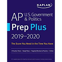 AP U.S. Government & Politics Prep Plus 2019-2020: 3 Practice Tests + Study Plans + Targeted Review & Practice + Online (Kaplan Test Prep) (English Edition)