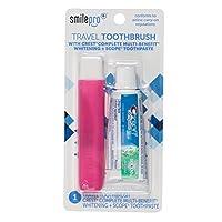 *源旅行牙刷 & Crest 牙膏 3 件装