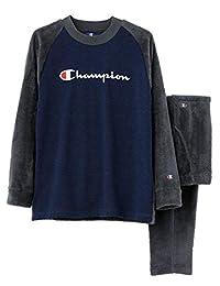 [冠军] 家居服 长袖长裤 长裤/毛圈布拉绒 OM8568 男装