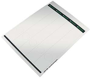 Leitz 利茨 PC 可标记的背牌 - 纸张,长/窄,125 个 85 PC-beschriftbare Rückenschilder - Papier, lang/schmal, 125 Stück 灰色
