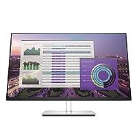 HP 惠普 EliteDisplay E324q 电脑 80 厘米(31.5 英寸)Quad HD 扁平银质 电脑屏幕(80 厘米(31.5 英寸)2560 x 1440 像素 Quad HD 7 毫秒 银色)