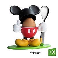 WMF 福腾宝 Disney Mickey Mouse 蛋杯 带勺子 塑料 银 13 x 11.5 x 11 cm 1296386040