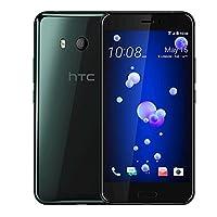 现货 HTC U11 6GB+128GB 移动联通电信全网通 双卡双待4G手机 (沉思黑)