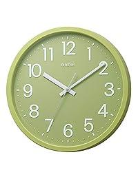 DAILY(节奏时钟) 石英表 平面表盘 マッチャ?グリーン(29緑) Φ33.1x4.3cm 4KGA06BZ29