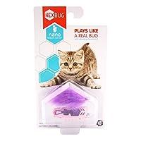 美国 HEXBUG赫宝宠物系列-猫之宠纳诺虫-紫色 猫咪玩具 智能玩具