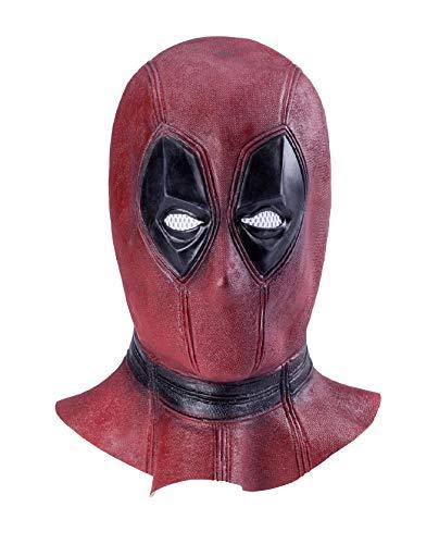ASVP Shop DP 面罩豪华全头乳胶电影头盔万圣节角色扮演服装成人配饰