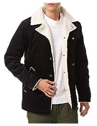 [M SE]男士 大衣 里襯 午餐大衣 中棉 燈芯絨 夾克
