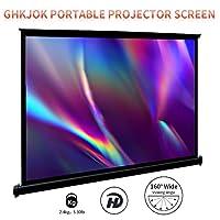 自立式投影机屏幕便携式屏幕高清小投影机屏幕3D高清4k便携式投影机屏幕