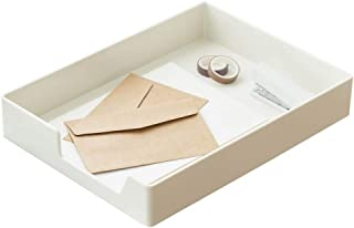 Lunmore 可叠放办公信件收纳盒桌面托盘文件文件架