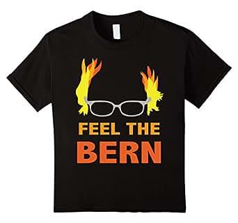Feel The Bern Shirt - Kids 8 - Black