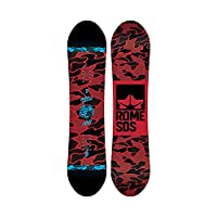 Rome Snowboards Monished 滑雪板,黑色,100