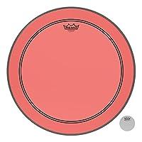 Remo Powerstroke P3 彩色红低音鼓头,50.80cm