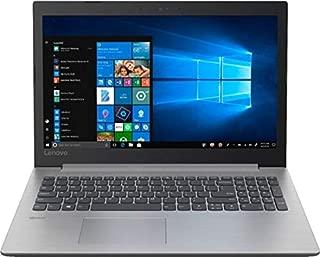 Lenovo Ideapad 330 15.6 英寸高清笔记本电脑电脑,Intel Quad-Core Pentium Silver N5000 高达 2.7 GHz、4GB DDR4 RAM、500GB HDD、DVD-RW、WiFi、蓝牙、HDMI、英特尔 UHD 显卡 605、Windows 10 - 白金灰色