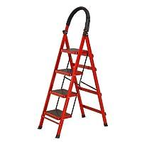(包邮)HAGGIS 家用折叠梯 加厚室内人字梯 移动楼梯 伸缩梯步梯 多功能扶梯(供应商直送) (四层)