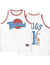 space jam 男式篮球运动衫 - Tune Squad Bugs Bunny,Monstars 球衣