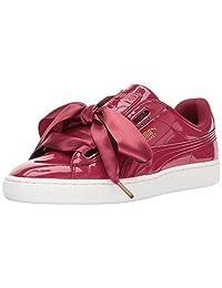 Puma 彪马 女式 Basket Heart Patent Wn 时尚运动鞋