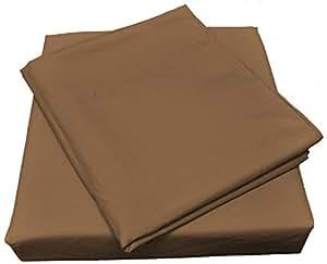 Nouvelle Legende 微纤维 Spa 优质床单套装 棕色 全部 NL-MF-PW-F-BN