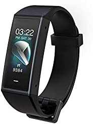 Wyze Band Activity Tracker 内置 Alexa | 双麦克风、高分辨率彩色触摸屏、心率监测、计步器、*监测和手机通知 | WWAB1