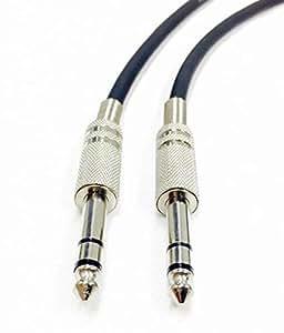 C2G 40063 Pro-Audio 1/4 英寸公对 1/4 英寸公头电缆,黑色(1.5 英尺,0.45 米)40066 12ft