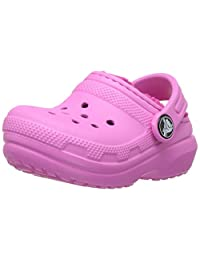 crocs 儿童中性 Classic Lined Clog - K