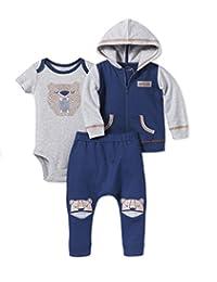 Lamaze婴儿有机3件连帽衫套装