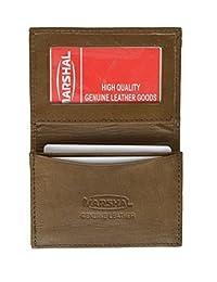 真皮可扩展信用卡 ID 名片夹钱包