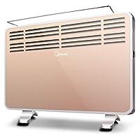 Midea 美的 电暖器NDK20-16H1W取暖器/电暖气 时尚欧式快热炉(亚马逊自营商品, 由供应商配送)