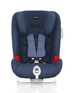 Britax 宝得适 儿童安全座椅 百变骑士 IISICT Plus-Advansafix Plus 月光蓝 五点式安全带 isofix接口 适合约9个月-12岁
