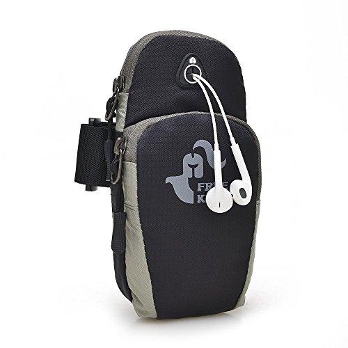 FreeKnightアライ市スポーツ機器アームセットを実行している男性と女性のための5.5インチ以下のモデル屋外アームバッグカードパッケージ