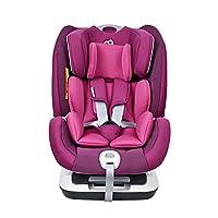 Baby first 宝贝 汽车儿童安全座椅太空城堡-石榴紫