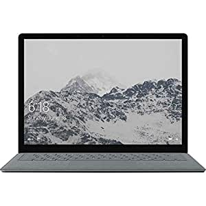 Microsoft DAP-00009 13.5 Laptop - (Platinum) (Intel 5th Gen M-5Y70 Processor, 4 GB RAM, 128 GB SSD, Intel HD 5300 Graphics, Windows 10)