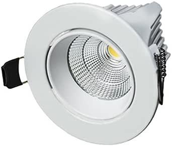 LAES 986945 嵌入式LED灯,9W,白色,88 x 65毫米
