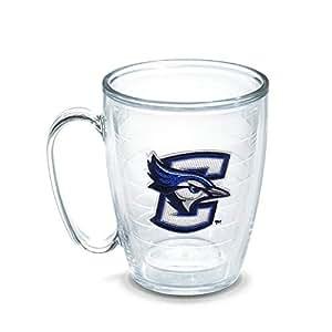 Tervis 1140745 Creighton University Blue Jay Emblem Individually Boxed Mug, 16 oz, Clear