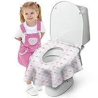 Cadily Potty Protectors 一次性马桶坐垫 儿童用坐垫 | 一次性马桶坐垫 | 一次性马桶座套可*覆盖任何马桶 | 适合旅行 Princess 20 Pack