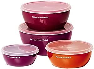 KitchenAid Prep Bowls Set (Set of 4), Assorted