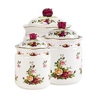 Royal Albert Old Country Roses 储物盒,3 只入