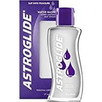 Astroglide Liquid - Water Based Personal Lubricant that Lubricates & Moisturizes - Long-Lasting, Condom-Compatible Lube Cleans Up Easily