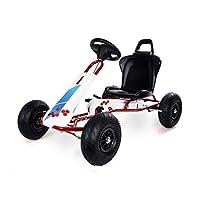 Ferbedo F005730 Gocart 带踏板 AR5C Fresh,白色,红色(自动开启的车,3 – 8岁儿童,承重50千克)