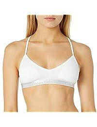 Calvin Klein 女士运动三角型加垫工字背文胸