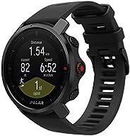 Polar Grit X – Robuste Outdoor-GPS-Uhr, Kompass, Höhenmeter, Strapazierfähigkeit auf Militärniveau für Wandern