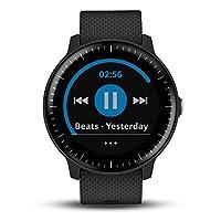 GARMIN 佳明 vivoactive 3 Music 音乐版 黑色 光电心率GPS跑步骑行游泳离线音乐支付健康监测智能运动手表